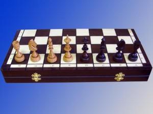 Деревянные шахматы Индийские мотивы 48 х 48 см.