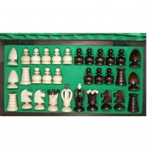 Шахматы деревянные 44 х 44 см. Королевские средние