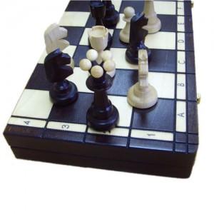 Шахматы деревянные 40 х 40 см. Козырной туз