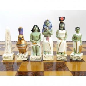 Шахматный набор Рим и Египет, полистоун 45 х 45 см.