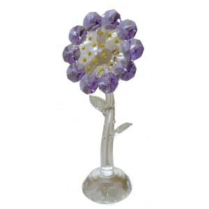 Цветок с лазерной огранкой 14 см.