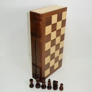 Шахматы деревянные Книжка 30 см.