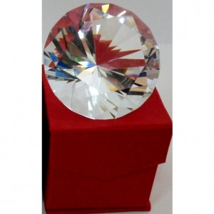 Хрустальный кристалл - бриллиант 6 см.