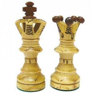 Шахматы деревянные подарочные Амбассадор 52 х 52 см.
