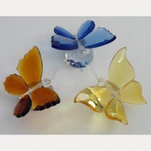 Хрустальный сувенир Бабочка 6 см.