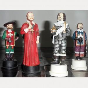 Шахматы Три мушкетёра полистоун 44 см.