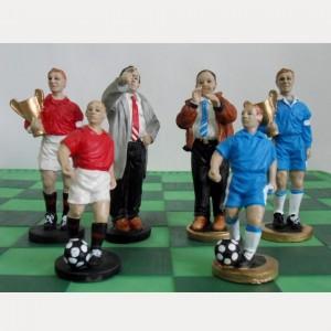 Шахматный набор Футбол полистоун 45 х 45 см.