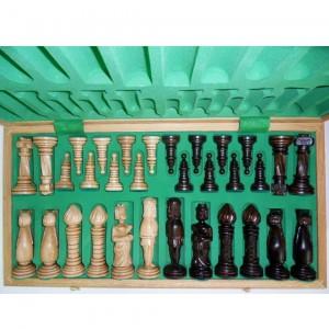 Деревянный шахматный набор Весёлые лошадки 65 х 65 см.