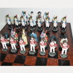 Шахматы Ватерлоо, полистоун 44 см. арт. 001625
