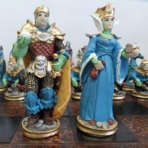 Шахматный набор из полистоуна Волшебная страна, 44 х 44 см.