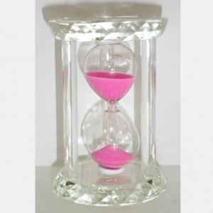 Хрустальные песочные часы с цветным песком