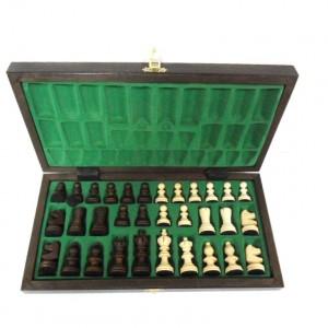 Шахматы деревянные 35 х 35 см. Олимпийские средние