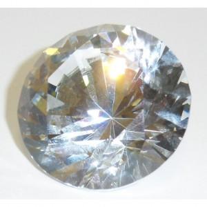 Хрустальный кристалл 6 см. с внутренним светоотражением
