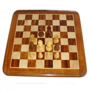 Шахматный набор Палисандр подарочный 3,25 дюйма с доской 40 х 40 см.