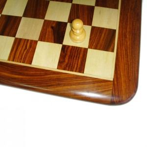 Шахматный набор Палисандр подарочный 3,75 дюйма с доской 45 х 45 см.